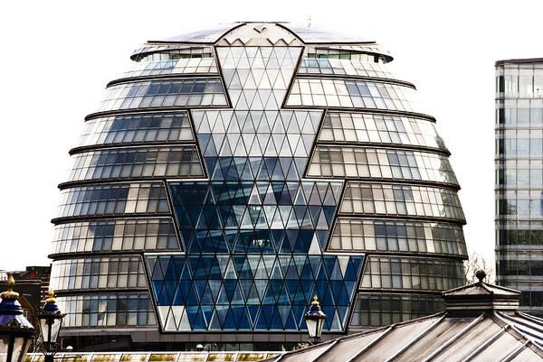 Photograph - City Hall London by Christi Kraft