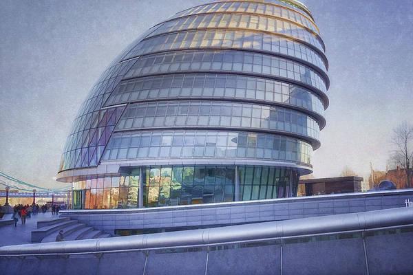 Photograph - City Hall London by Joan Carroll