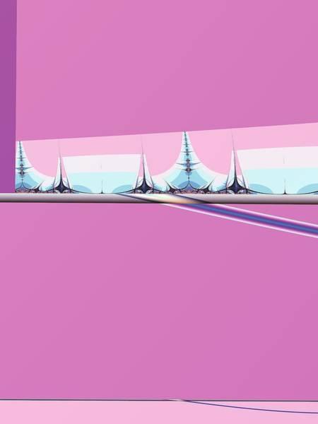 Elation Digital Art - City In The Future by Kenneth Keller