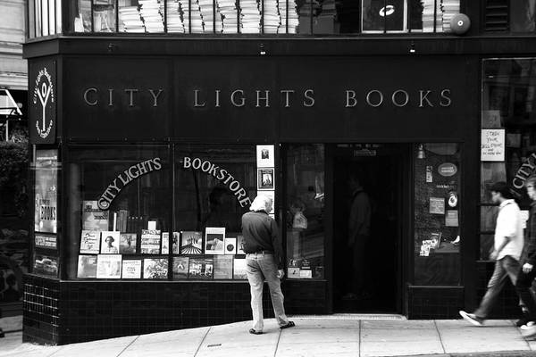 Photograph - City Lights Bookstore - San Francisco by Aidan Moran