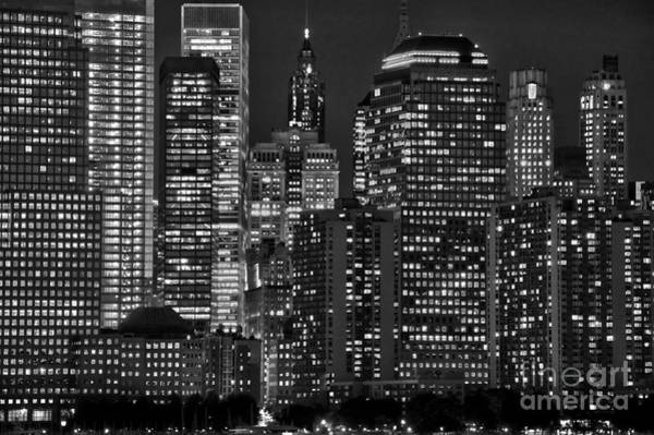 Wall Art - Photograph - City Lights by Delphimages Photo Creations