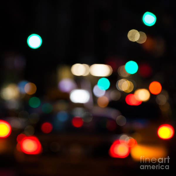 Buildings Wall Art - Photograph - City Lights  by John Farnan