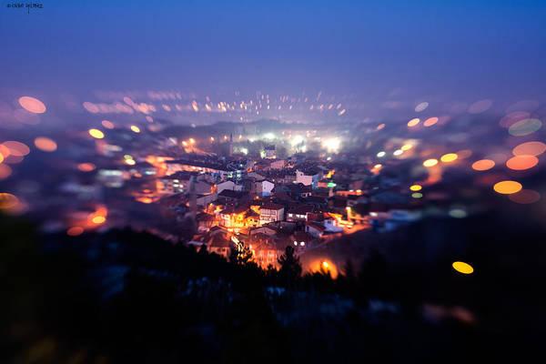 Photograph - City Lights by Okan YILMAZ