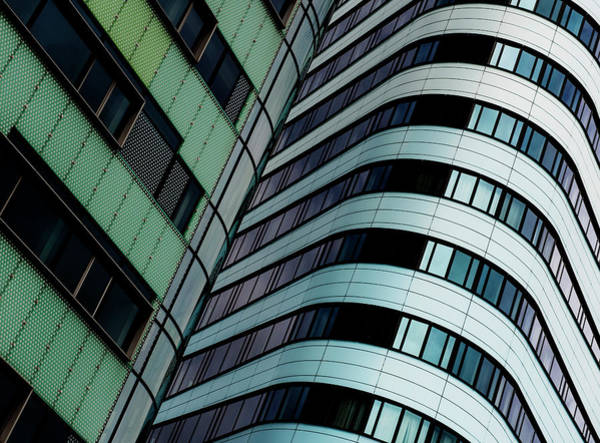 Facade Photograph - City Lines by Gerard Jonkman