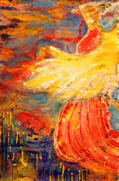 Painting - City Of An Angel by Giorgio Tuscani