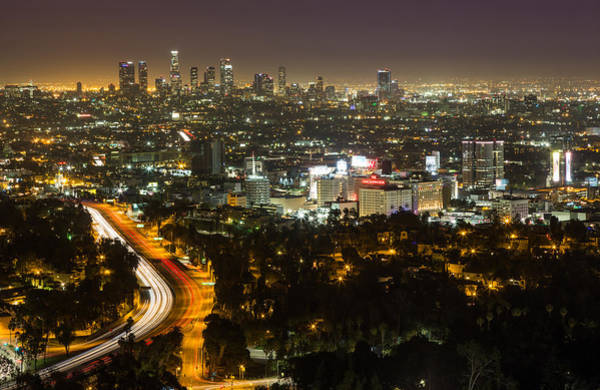 Photograph - City Of Angels by Tassanee Angiolillo