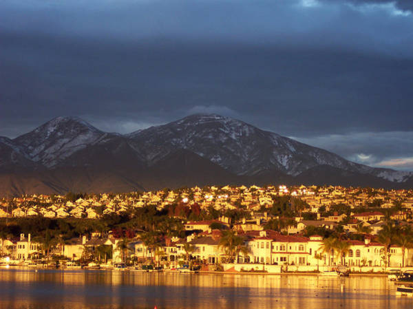 Mission Viejo Photograph - City Of Gold by Richard Brown