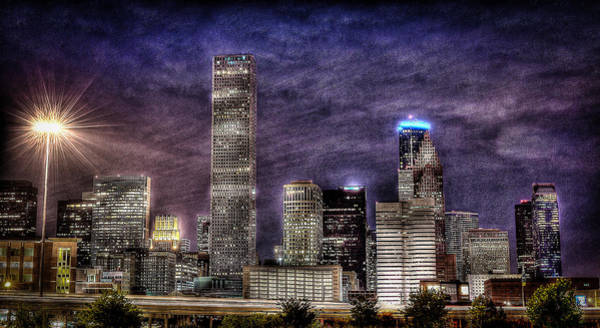 Photograph - City Of Houston Skyline by David Morefield
