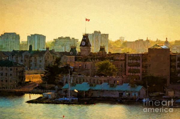 Photograph - City Of Kingston In Ontario by Les Palenik