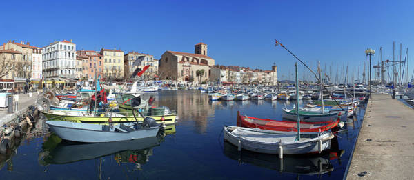 Rhone River Photograph - City Of La Ciotat And Port by Panoramic Images