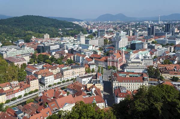 Wall Art - Photograph - City Of Ljubljana. Slovenia. by Fernando Barozza