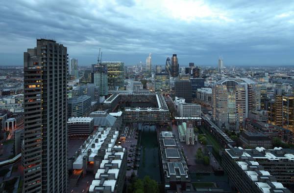 City Of David Photograph - City Of London by David Bank