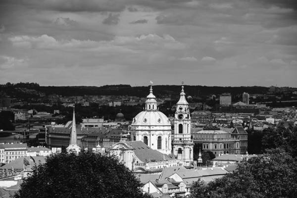 Photograph - City Of Prague In Black And White by Matthias Hauser