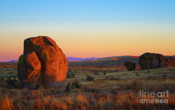 Wall Art - Photograph - City Of The Rocks Last Light 3 by Roena King