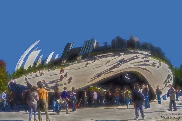Wall Art - Photograph - City On The Bean by Mark Fuge