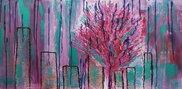 Painting - City Pear Tree by Nan Bilden