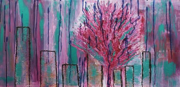 Painting - City Pear Tree by Nan Bilden