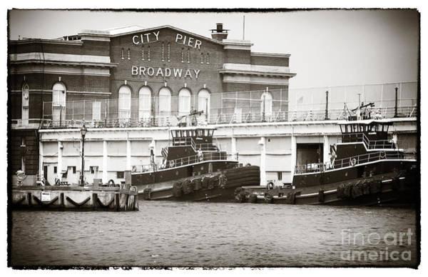 Photograph - City Pier Broadway by John Rizzuto