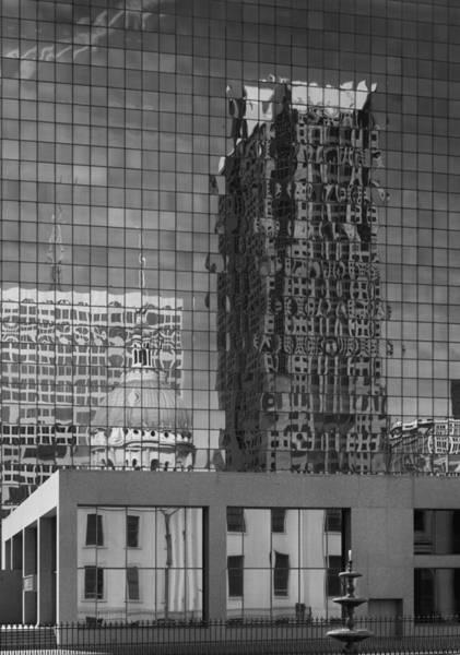 Photograph - City Reflections by Harold Rau