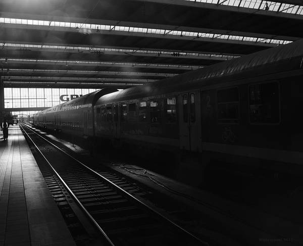 Photograph - City Station by Miguel Winterpacht