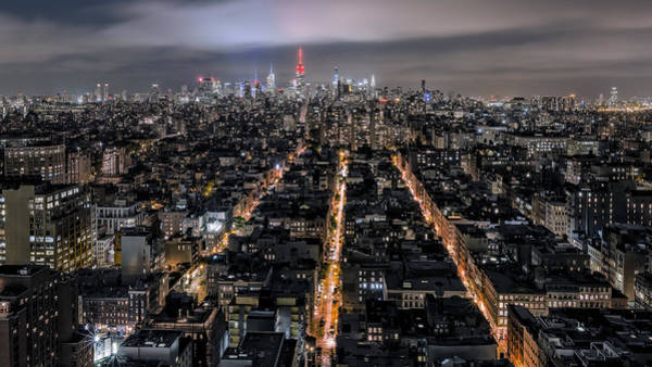 Midtown Manhattan Digital Art - City Veins by Eduard Moldoveanu