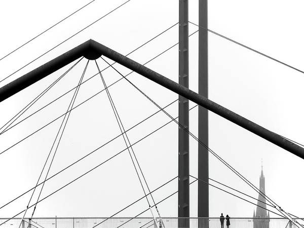 Wall Art - Photograph - City View by Klaus Lenzen