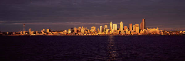 Wall Art - Photograph - City Viewed From Alki Beach, Seattle by Panoramic Images