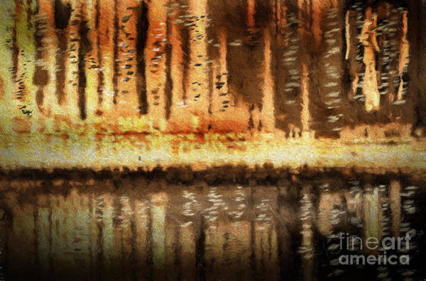 Wall Art - Digital Art - Cityscape Abstract Mixed Media Painting by Heinz G Mielke