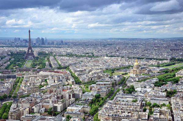 Invalides Photograph - Cityscape Of Paris by Alxpin