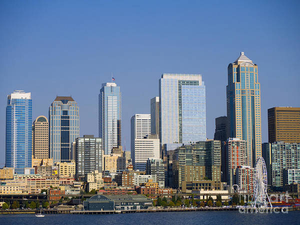 Photograph - Cityscape Of Seattle by Brenda Kean