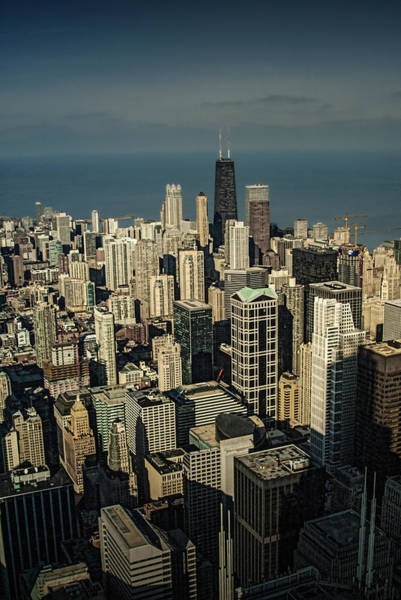 Photograph - Cityscape Photograph Of Downtown Chicago by Randall Nyhof