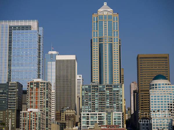 Photograph - Cityscape Seattle by Brenda Kean