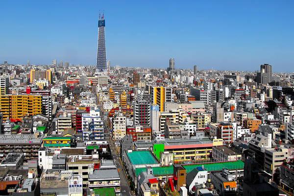 Photograph - Cityscape Tokyo Japan by Christine Till