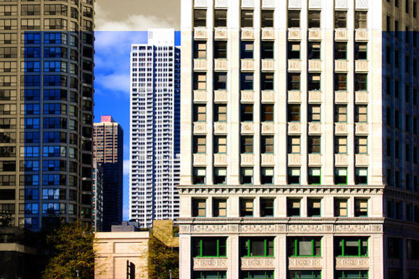 Cityscape Windows Art Print