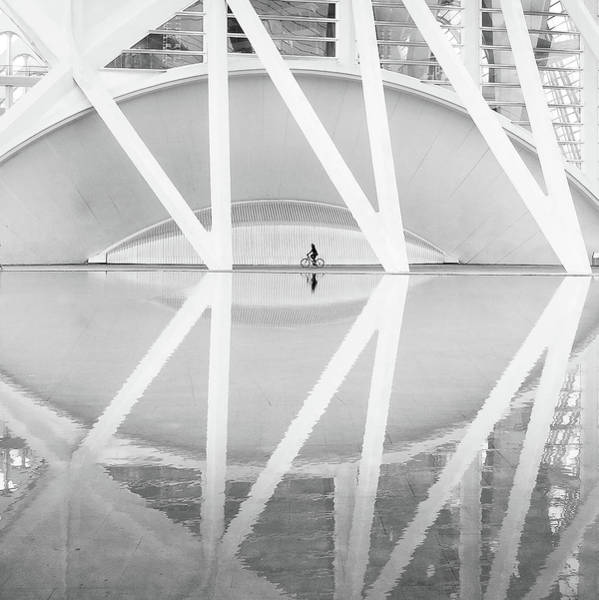 High Key Wall Art - Photograph - Ciudad Artes Y Las Ciencias by Francisco Sanchez Fotografias