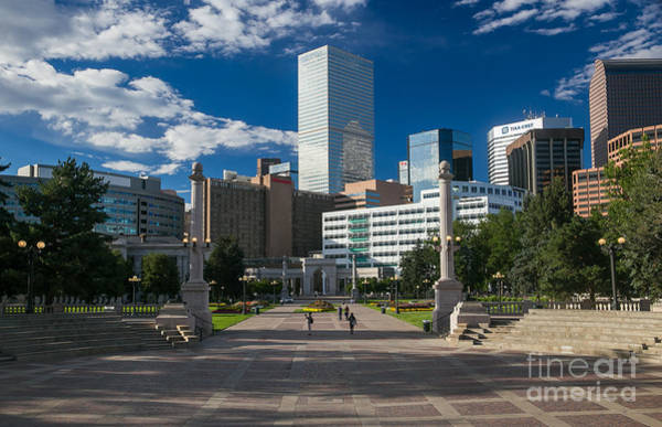 Mile High City Photograph - Civic Center Park Denver Colorado by Bridget Calip
