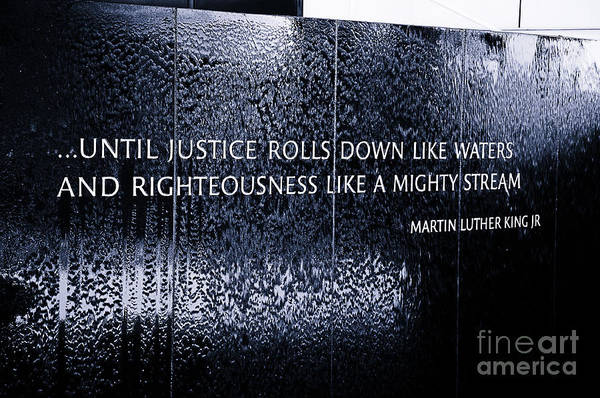 African American Museum Photograph - Civil Rights Memorial by Danny Hooks