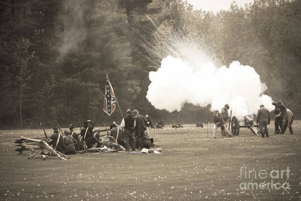 Wall Art - Photograph - Civil War 11 by Roger Bailey