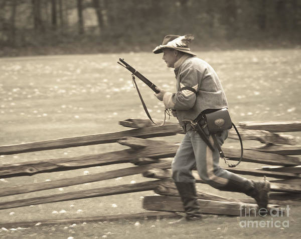 Wall Art - Photograph - Civil War 19 by Roger Bailey