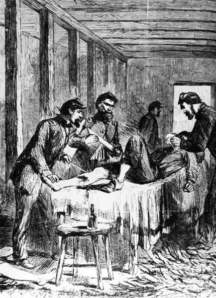 Photograph - Civil War: Amputation by Granger