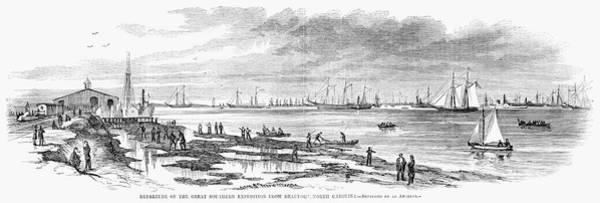 Wall Art - Painting - Civil War Beaufort, 1863 by Granger