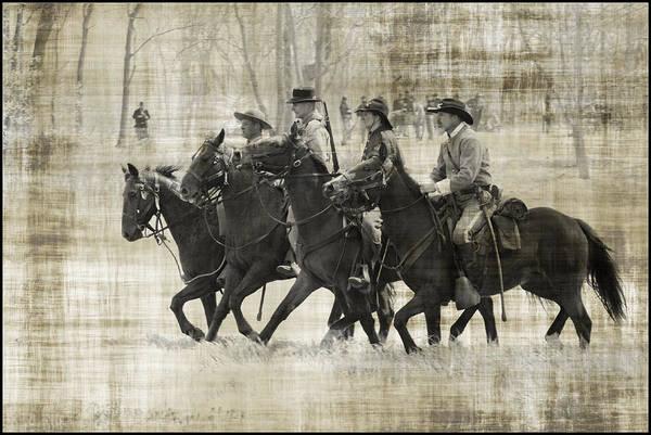 Photograph - Civil War Calvary by Alice Gipson