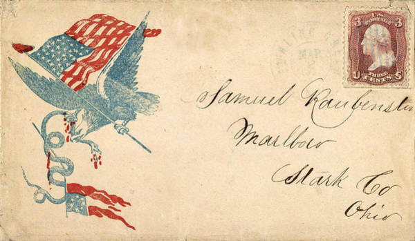Photograph - Civil War Letter 1 by Andrew Fare