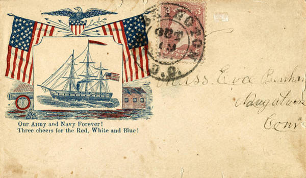 Photograph - Civil War Letter 10 by Andrew Fare