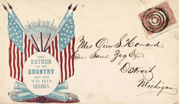 Photograph - Civil War Letter 11 by Andrew Fare