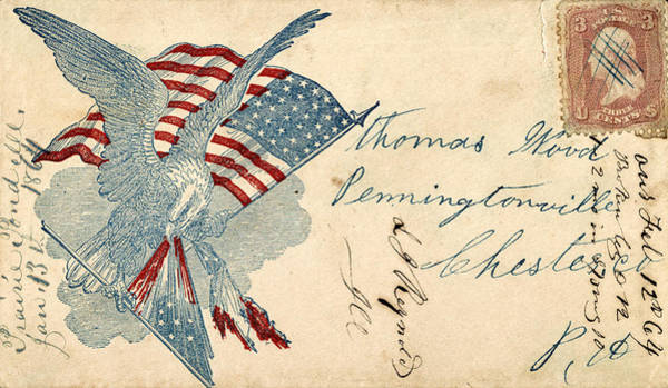 Photograph - Civil War Letter 12 by Andrew Fare