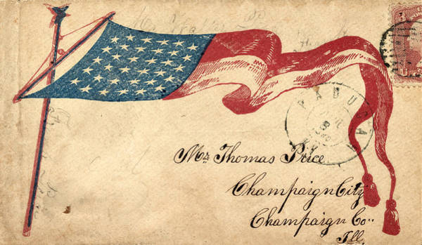Photograph - Civil War Letter 14 by Andrew Fare
