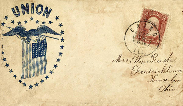 Photograph - Civil War Letter 15 by Andrew Fare