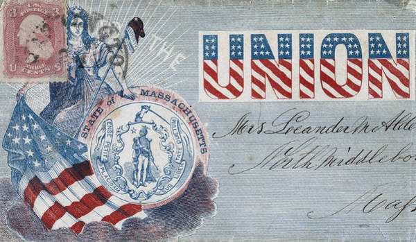 Photograph - Civil War Letter 16 by Andrew Fare
