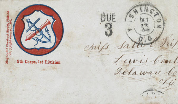 Photograph - Civil War Letter 17 by Andrew Fare